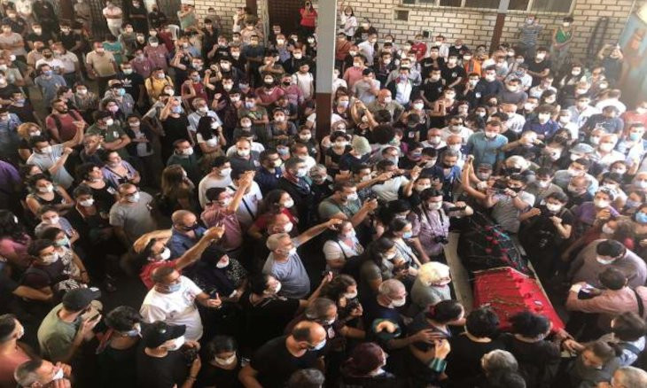 Police fire tear gas on mourners, take lawyer Timtik's body away from forensic institute