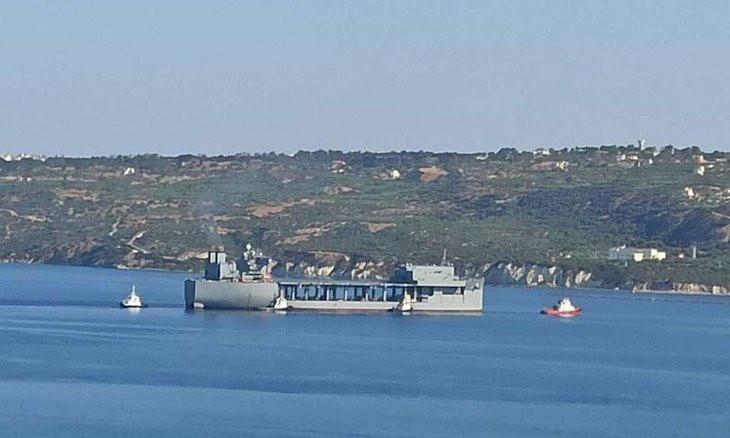 US warship arrives in Crete amid escalating Turkey-Greece tensions