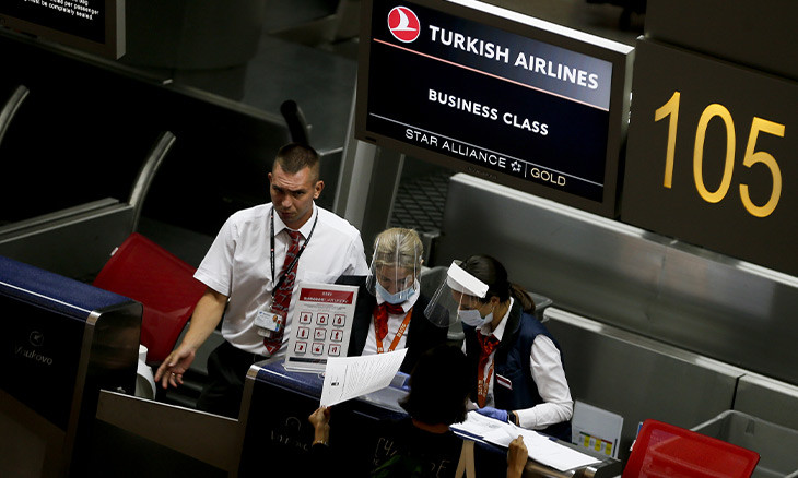 Turkish Airlines loses 4.25b liras in first half of 2020