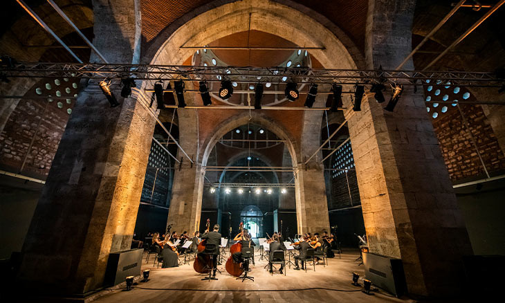 Beethoven-centered Istanbul Music Festival to stream pre-recorded performances in historic spots