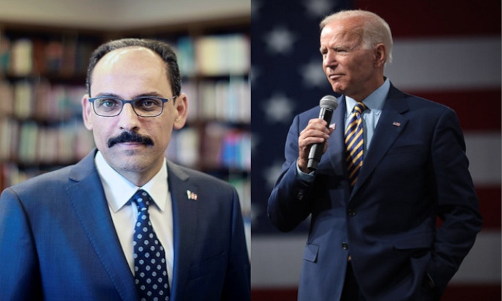 Erdoğan aide blasts Biden for calling on Turkey to stay out of Azerbaijan-Armenia conflict