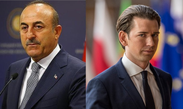 Turkish FM Çavuşoğlu slams Austrian Chancellor's remarks on Erdoğan