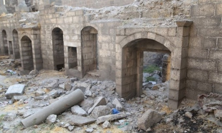 Surp Sarkis Church in Diyarbakır raided by treasure hunters due to gov't failure to protect it