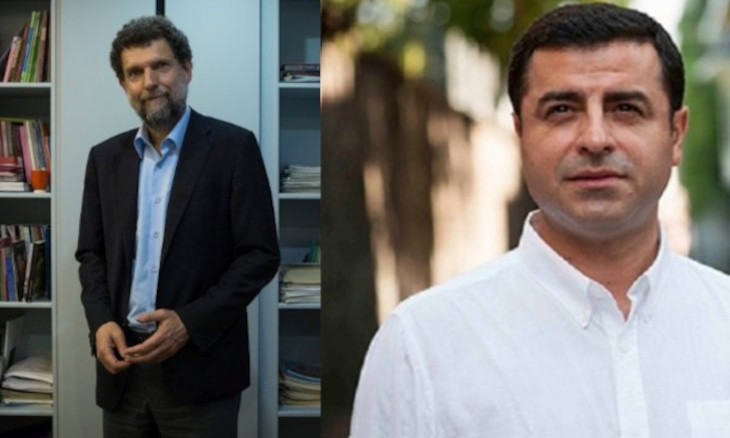 CHP chair says jailed Kavala, Demirtaş 'will wear prison time as badge of honor'