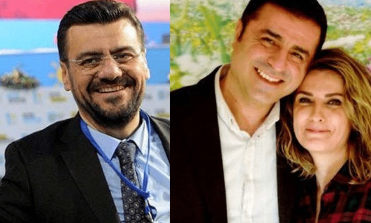 AKP deputy tweets insulting message targeting Demirtaş, daughters, then says 'adviser published it'