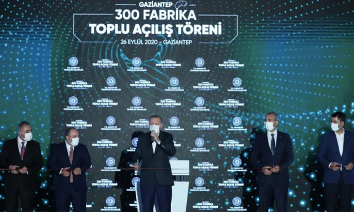 Turkish ministry boasts about opening a factory that's been operational for decades