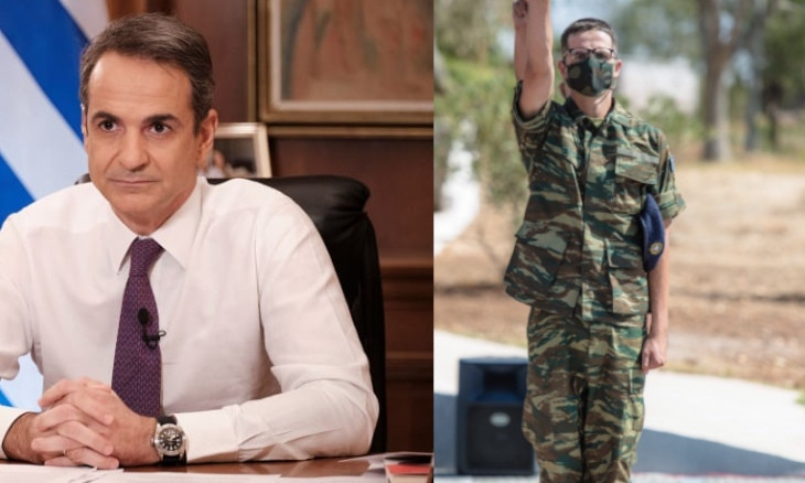Greek PM says he is 'very proud' of his son who is doing military service on Greek-Turkish border