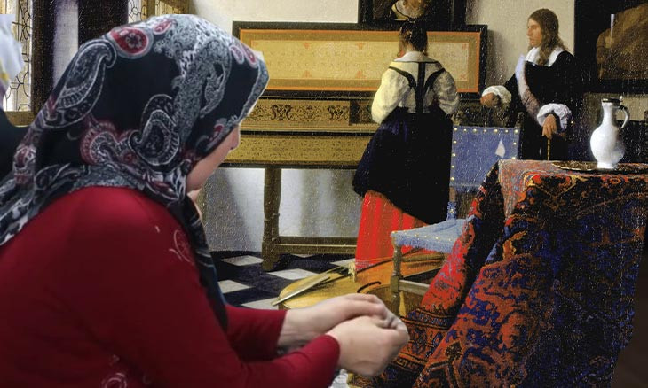 From Renaissance art to oblivion: Women in Uşak fight for survival of 'Turkish rugs'