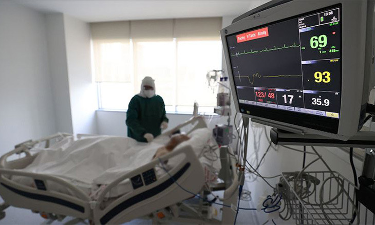 Turkey observes increasing numbers of active, critical care COVID-19 patients