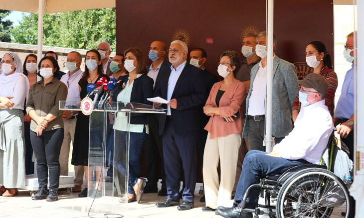 'Ankara aims to eliminate HDP from politics with mass detentions'