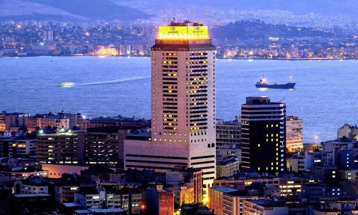 Landmark Hilton Izmir shutting down after decades' service