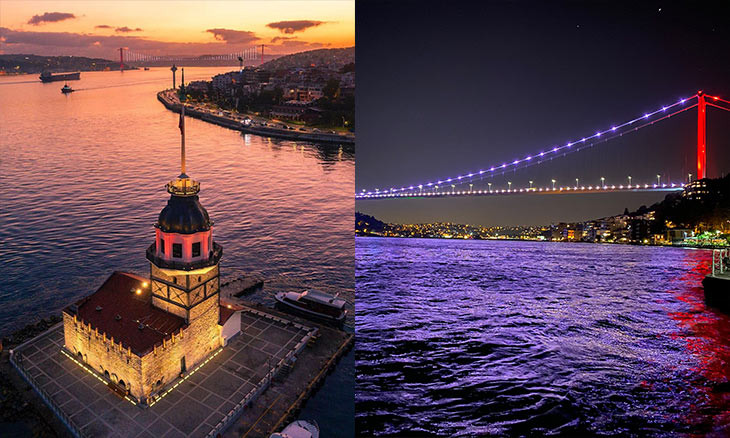 Turkish districts join  Istanbul municipalities' banter on who has best views