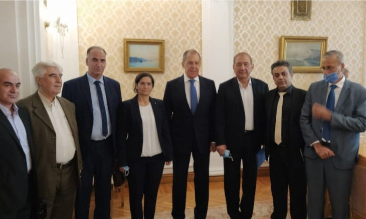 SDC and Popular Will Party delegations meet with Russian FM Lavrov, drawing ire from Turkey
