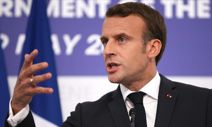 Macron slams Turkey's 'warlike' rhetoric on Nagorno-Karabakh