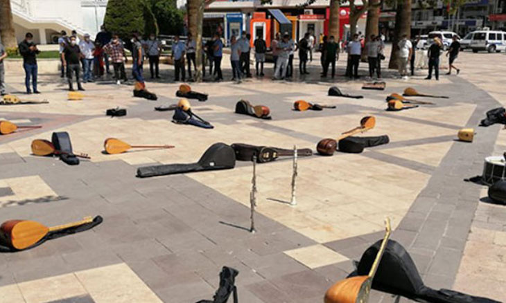 'Almost 100 musicians committed suicide during pandemic in Turkey'