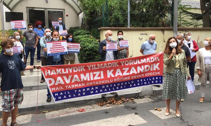 Istanbul middle school still remains closed despite four court rulings to revoke its status as İmam Hatip