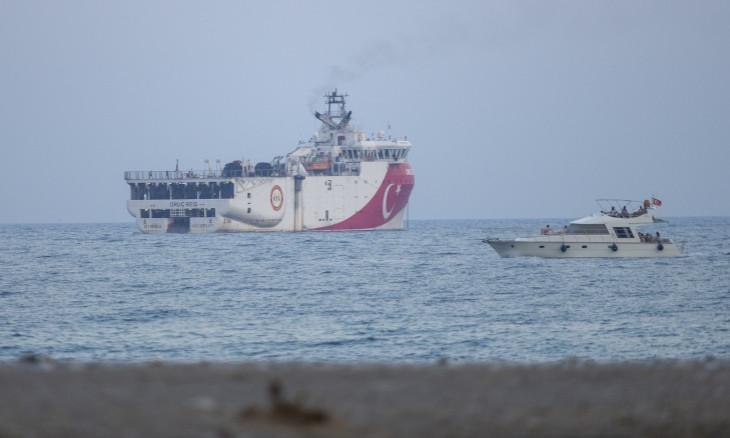 Turkish research vessel Oruç Reis left port of Antalya
