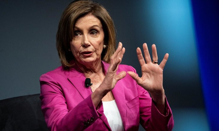 You are not in Turkey, Pelosi tells Trump over refusal to commit to peaceful transfer of power