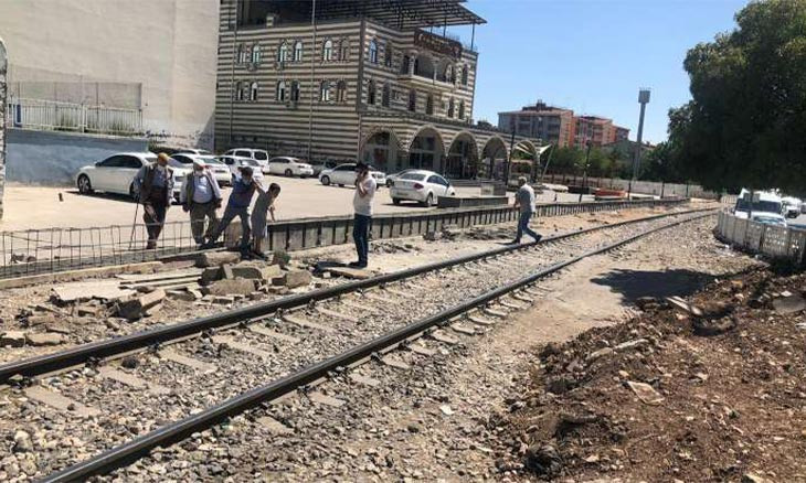 Turkish Railways suspends construction project designed to divide Diyarbakır in half