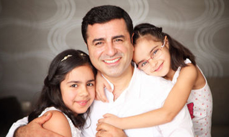 Former HDP co-chair Demirtaş barred from seeing daughters in prison
