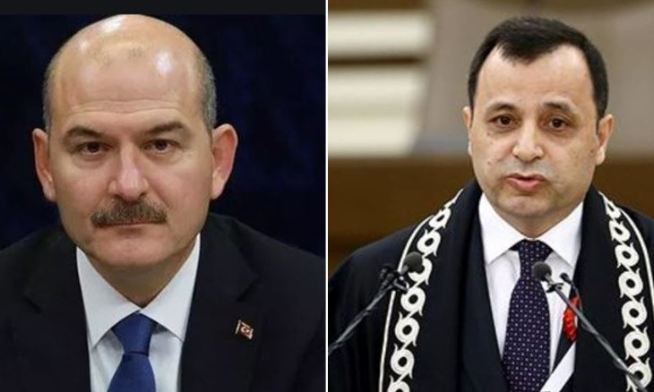 Turkish Interior Minister targets Constitutional Court President after top court permits intercity marches