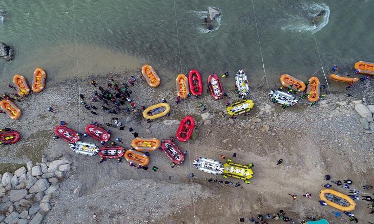Turkey Rafting Championship kicks off on Great Zab
