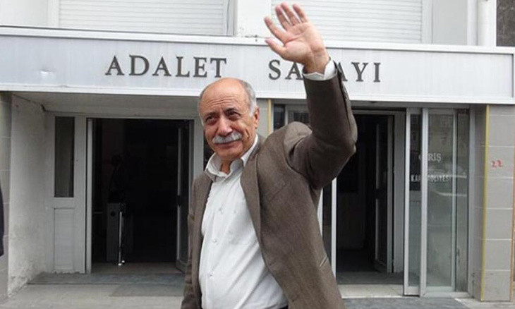 Kurdish politician Mahmut Alınak briefly detained on charges of 'insulting' Erdoğan