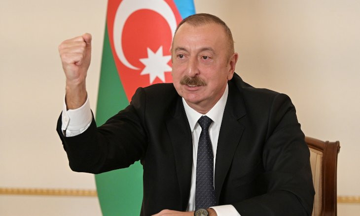 Aliyev threatens to use Turkish F-16s in case of 'external attack on Azerbaijan'
