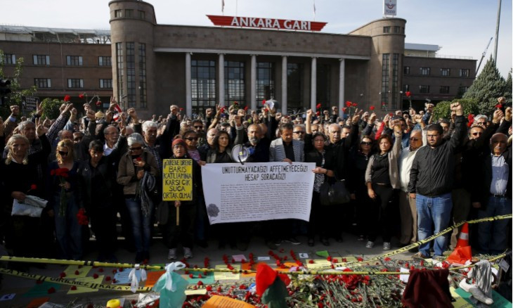Five years on, still no justice for victims of Ankara October 10 Massacre