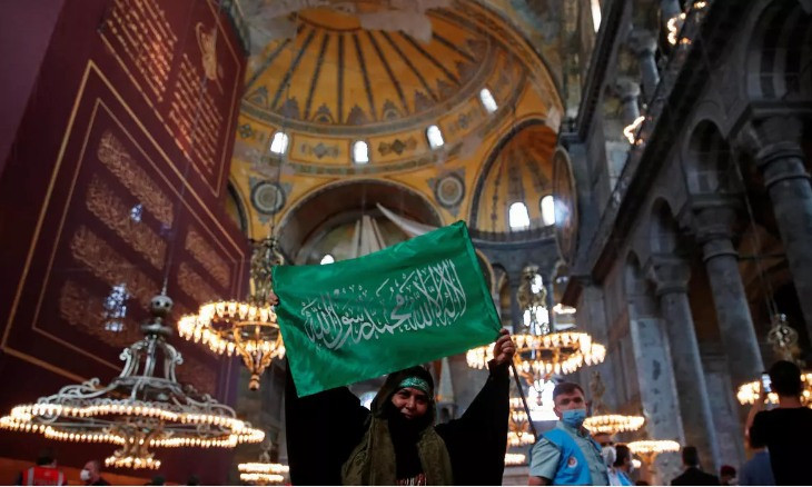 Russia urges UNESCO to release restoration report on Hagia Sophia's conversion as soon as possible