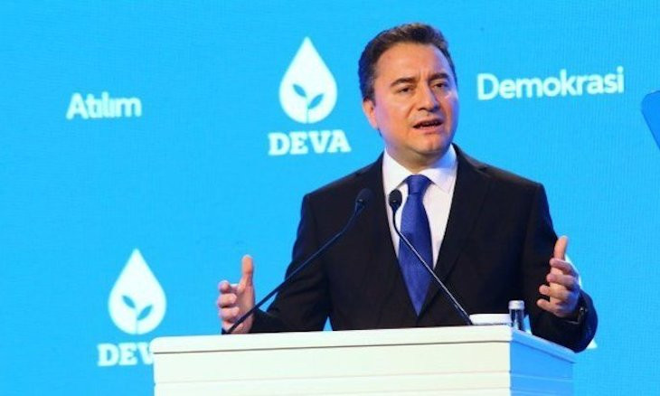 Opposition leader Babacan slams gov't for 'trampling on' human rights, freedom of speech in Turkey