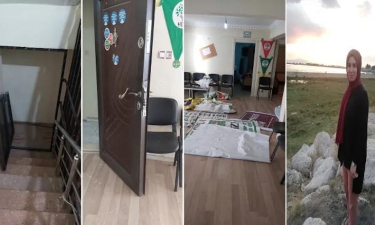 HDP office raided, co-chairs detained in Ağrı's  Doğubayazıt district