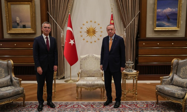 Erdoğan, NATO chief discuss eastern Mediterranean crisis in Ankara