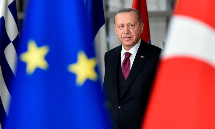 EU says presidential system hampers democracy in Turkey, membership talks at 'standstill'