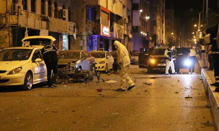 Turkish police detain five people over alleged involvement in suicide bombing in Hatay