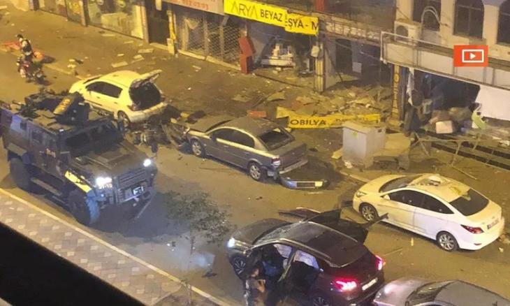 Blast rocks southern Turkey, authorities say two PKK militants nabbed