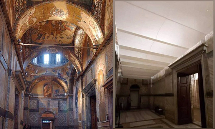 Mosaic cover-ups in Istanbul's Chora Museum 'unqualified, destroys artistic value'