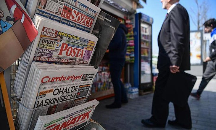 Over 100 news reports blocked in Turkey within past month