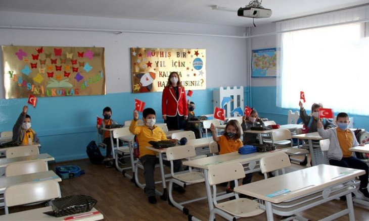 Turkey to relaunch in-class education for all elementary school students on Oct 12