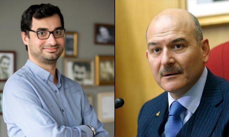 I'm not a man breastfed by embassies, Interior Minister Soylu tells journalist Barış Terkoğlu