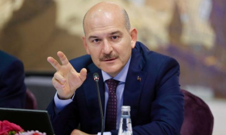 Man faces 'terror charges' after sharing Minister Soylu's remarks aired on Gülen-linked TV station
