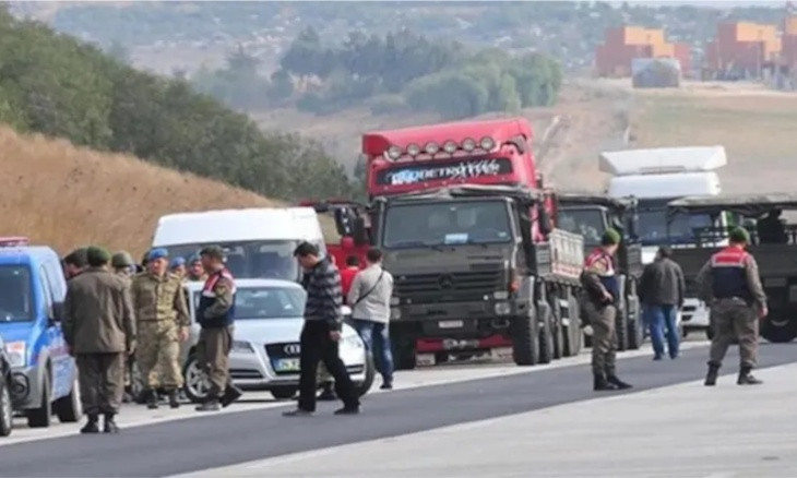 Turkish court sentences 27 people for exposing intelligence trucks en route to Syria