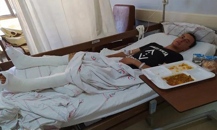 Afghan migrant thrown off building by human traffickers in eastern Turkey