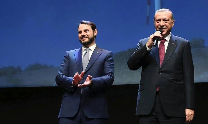 Erdoğan breaks silence on son-in-law Albayrak's shock resignation in brief remarks