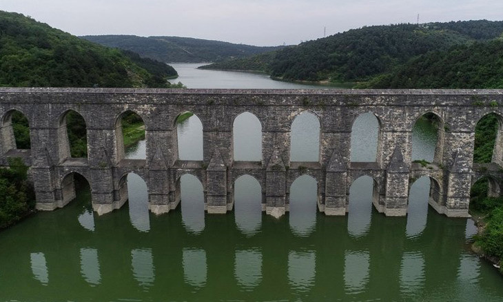 Istanbul water reservoirs dip to lowest levels of decade