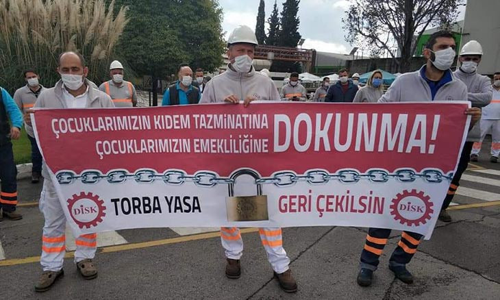 Turkey restricts Twitter account of workers union amid parliament debate on critical labor law