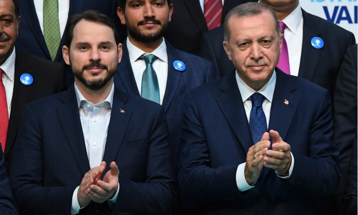 Erdoğan accepts son-in-law Albayrak's resignation as finance minister