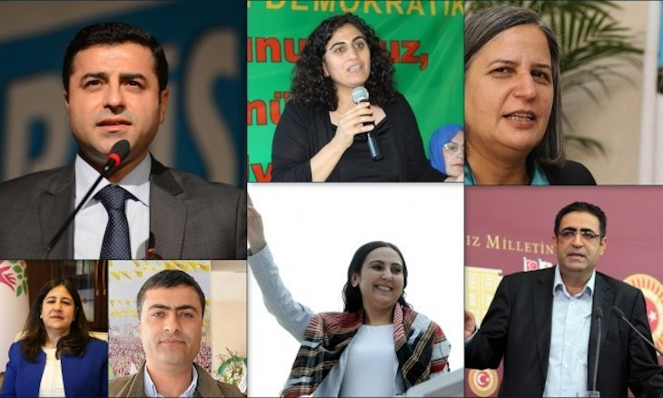 Former HDP co-chairs Demirtaş and Yüksekdağ mark four years in prison