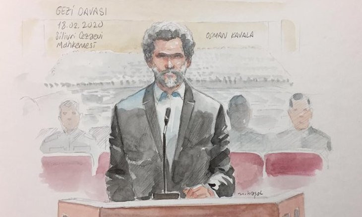 Rights activist Osman Kavala marks three years in prison