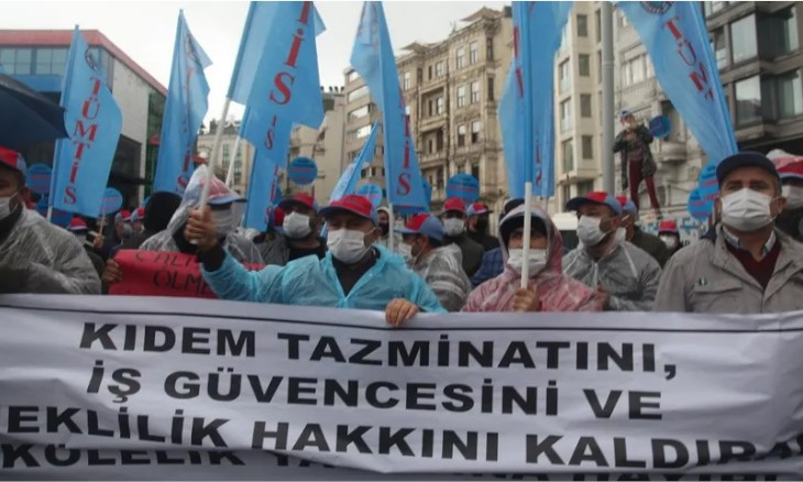 Turkish gov't to withdraw controversial labor bill after unions' objection